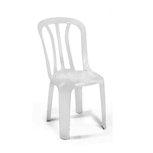 כסא פלסטיק לבן