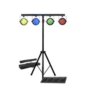 סטנד + 4 פנסי LED