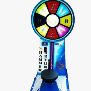 מכונת משחק פטיש הכוח- אלקטרוני