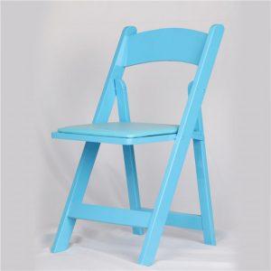 כיסא עץ מתקפל תכל