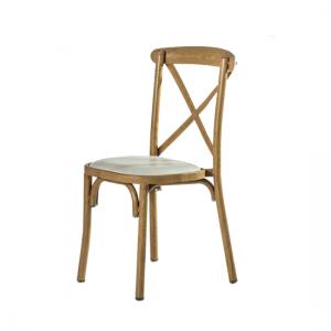 כיסא קרוס עץ