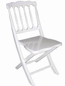 כיסא נפוליאון לבן